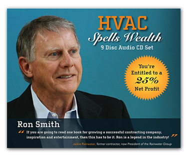 HVAC Spells Wealth CDs
