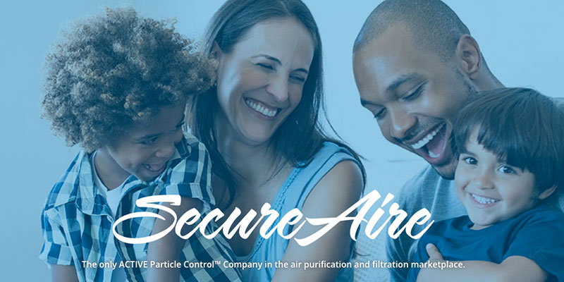 Announcing the SecureAire® Residential Air Purifier